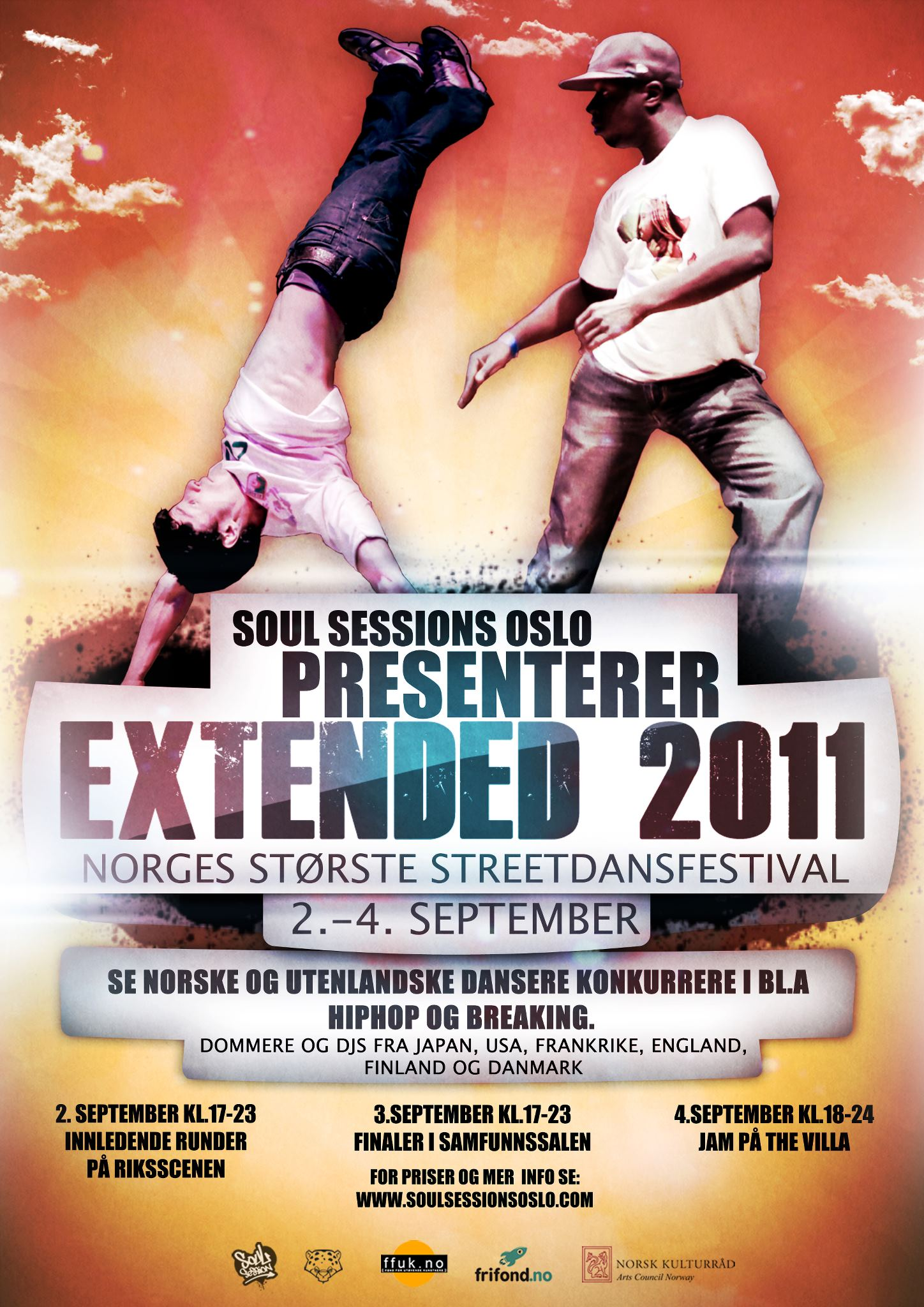 Flyer EXTENDED 2011